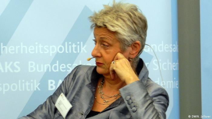 Эксперт фракции зеленых по восточноевропейской политике Марилуизе Бек
