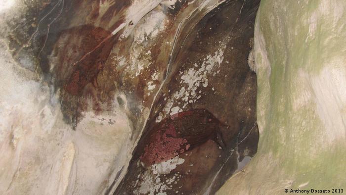 Indonesien Höhlenmalerei Sulawesi