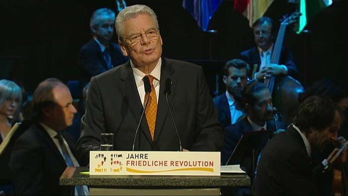 Joachim Gauck / Leipzig / Festakt