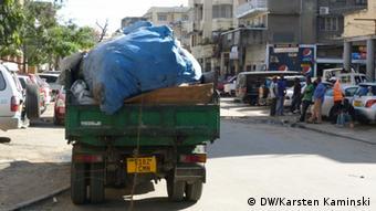 Dar Es Salaam Tansania Müll Müllabfuhr