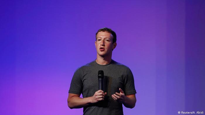 Indien USA Internet Facebook Gründer Mark Zuckerberg in New Delhi (Reuters/A. Abidi)