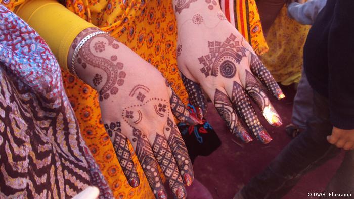 Bildergalerie Henna-Zeichnungen in Marokko