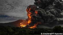 Vulkan Sinabung Sumatra 09.10.2014
