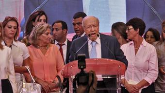 The chairman of the Nida Tounes coalition party, Beji Caid Essebsi, may be 88 years old, but he has a good chance of becoming the next President of Tunisia.
