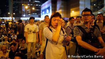 Hongkong Demonstranten Reaktion Absage Gespräche Regierung 09.10.2014
