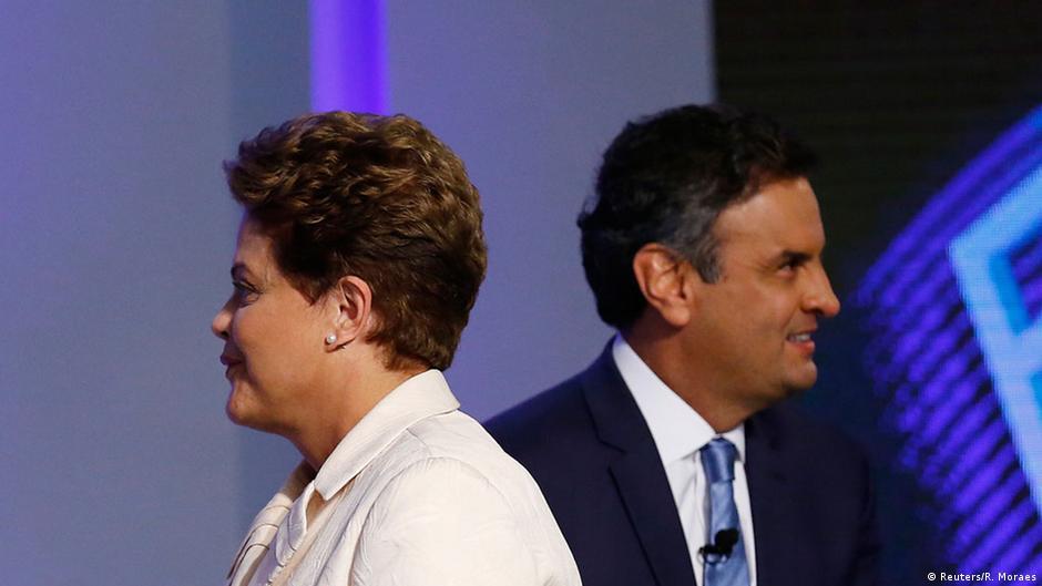Pesquisas apontam empate técnico entre Dilma e Aécio | DW | 09.10.2014