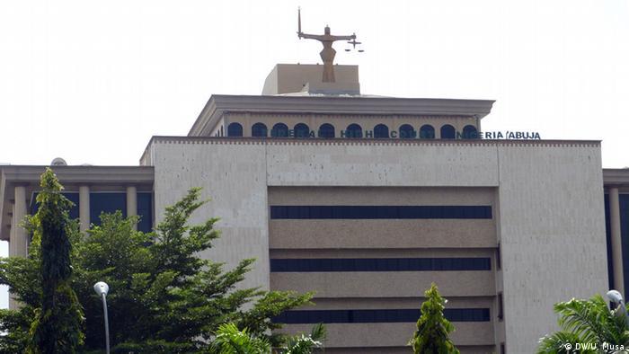 Nigeria Gerichtshof in Abuja