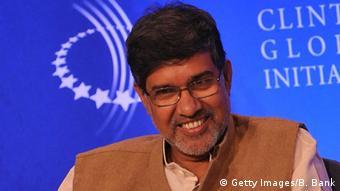 Kailash Satyarthi.