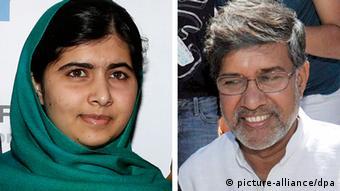 Malala Yousafzai i Kailash Satyarthi