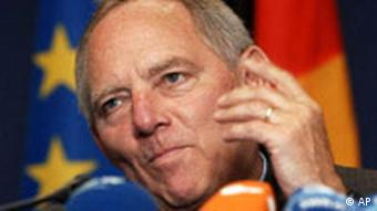 Wolfgang Schäuble Innenminister