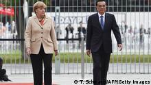 Deutschland China Ministerpräsident Li Keqiang bei Angela Merkel in Berlin