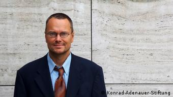 Oliver Ernst from the Konrad Adenauer Foundation in Berlin