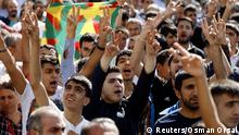 Türkei Diyarbakir Protest Ausschreitungen 09.10.2014