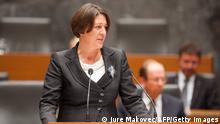 Violeta Bulc EU-Kommission will Slowenien 09/2014