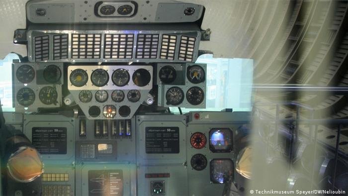 Кабина пилотов БТС-002 ОК-ГЛИ