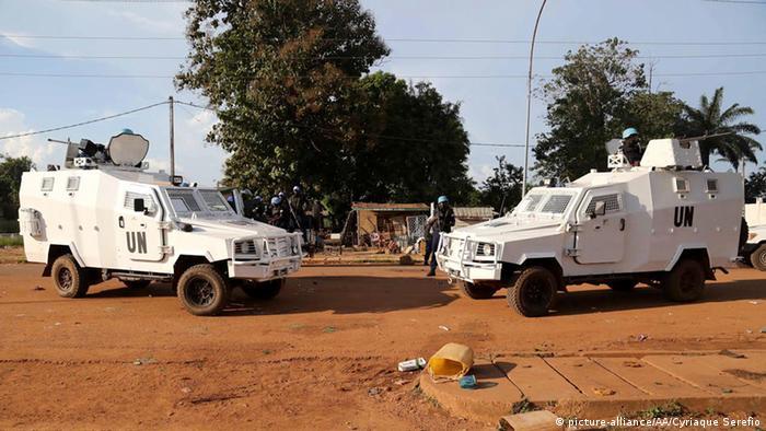Bangui Zentralafrikanische Republik MINUSCA 09.10.2014