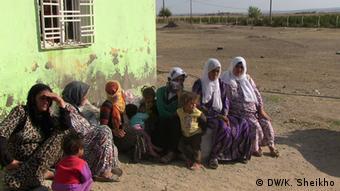 Flüchtlinge aus Kobane (Foto: DW)