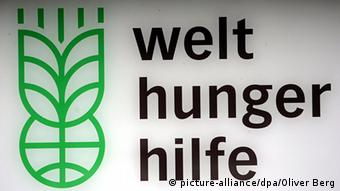 Logo der Welthungerhilfe (picture-alliance/dpa/Oliver Berg)