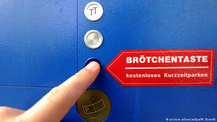 Brötchentaste2 Option on ticket vending machine