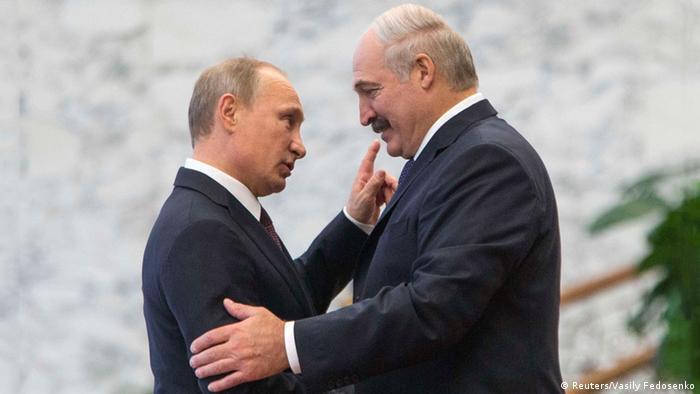 Комментарий: Путин и Лукашенко - брак по расчету трещит по швам ...