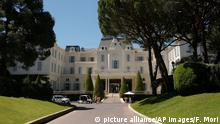 Hotel du Cap-Eden-Roc in Antibes (picture alliance/AP Images/F. Mori)
