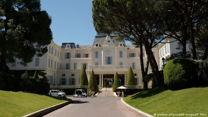 Das Hôtel du Cap-Eden-Roc in AntibesHotel du Cap-Eden-Roc in Antibes (Foto: AP)