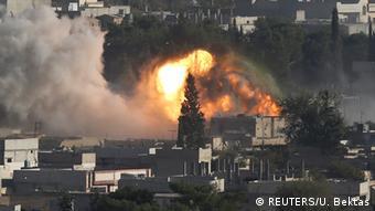 شهر کوبانی سوریه با حملات پیاپی دولت اسلامی روبروست