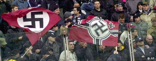 Italienische Fans für Rassismus