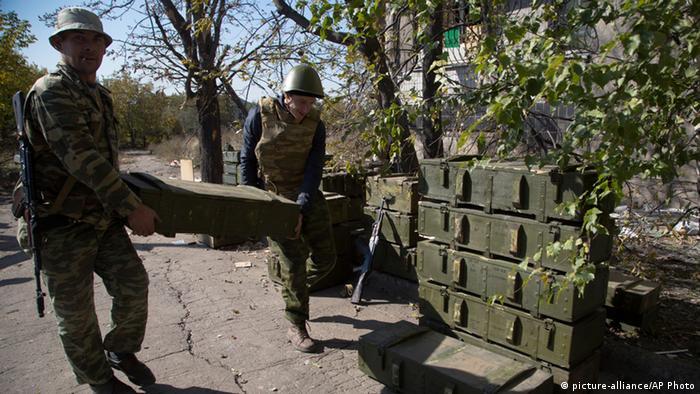 Ukraine erneute Kämpfe in Donezk