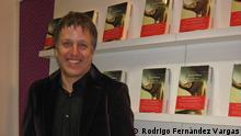 Xavier Velasco auf der Frankfurter Buchmesse 2014
