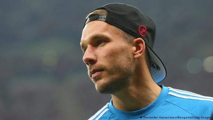 EM-Qualifikation Polen - Deutschland 11.10.2014 Lukas Podolski