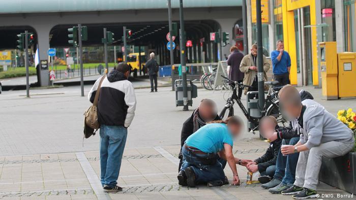 EINSCHRÄNKUNG Projekt Pickup - Bier für Obdachlose in Essen