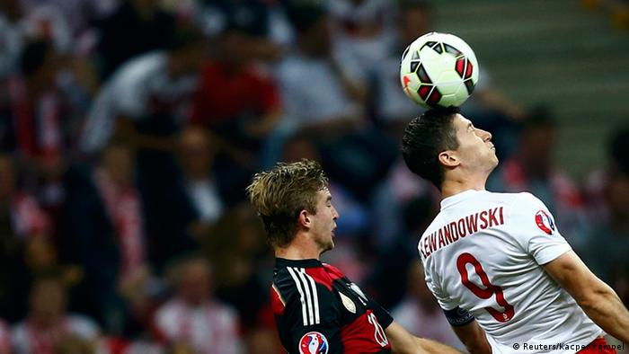 As it happened: Poland vs  Germany | Sports| German football and