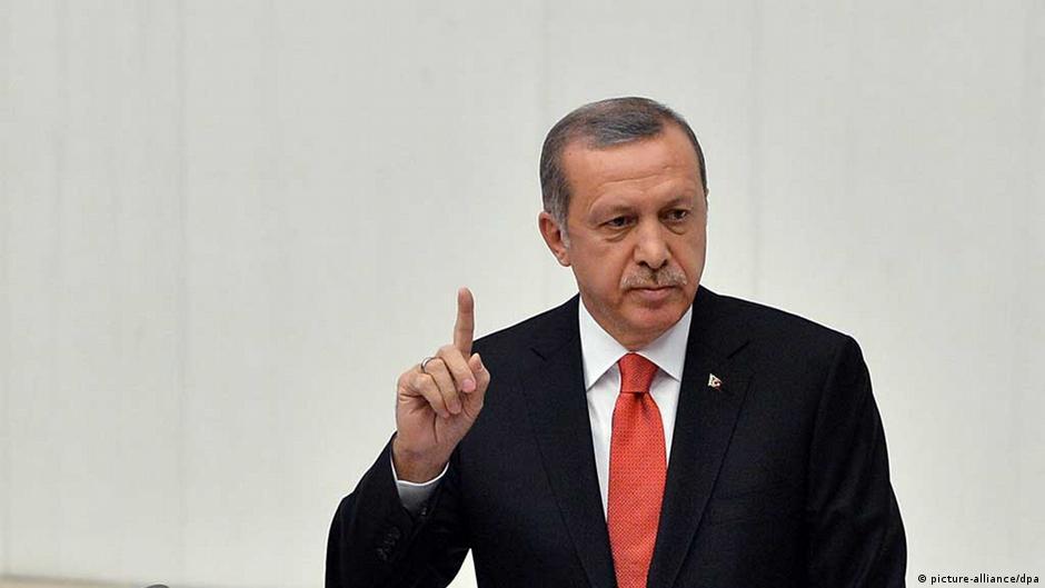 """أردوغان يضع أربعة شروط للمشاركة في محاربة """"داعش""""   DW   19.10.2014"""