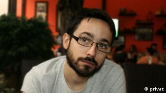 Dario Hajric Soziologe Aktivist Serbien