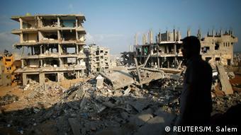 عکس: آرشیف - در جنگ 50 روزه اسرائیل و حماس، خسارات سنگینی بر نوار غزه وارد شد.