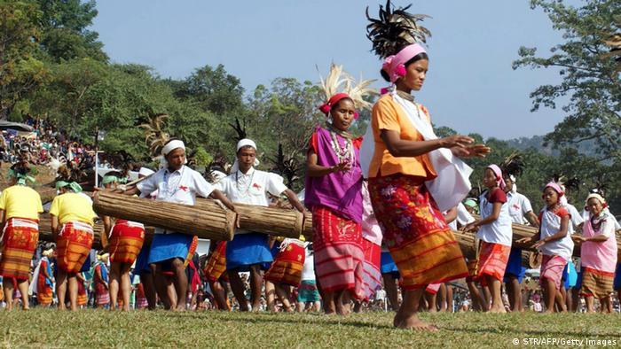 Bildergalerie Matrilinearität Garo Nepal Indien (STR/AFP/Getty Images)