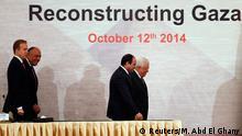 Geberkonferenz für den Wiederaufbau von Gaza