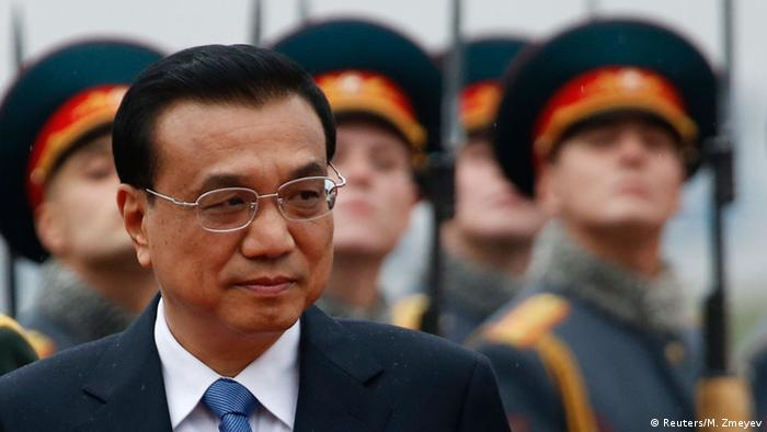 China Russland Staatsbesuch Li Keqiang in Moskau
