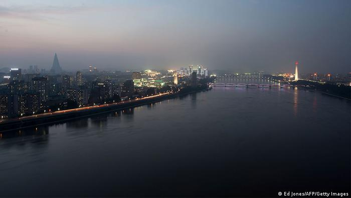 Skyline von Pjöngjang, Nordkorea (Ed Jones/AFP/Getty Images)