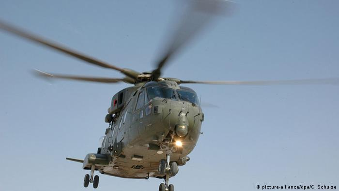 Hubschrauber der Royal Air Force