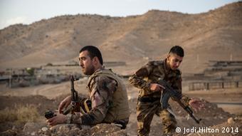Two soldiers Copyright: Jodi Hilton