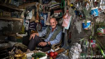 Man in a shop Copyright: Jodi Hilton