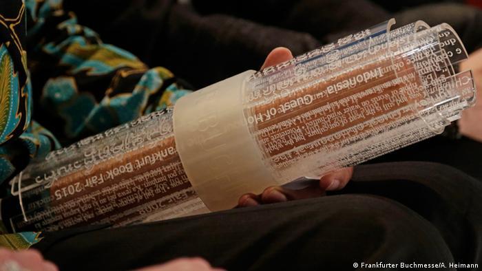 Frankfurt Book Fair Guest Scroll for Indonesia (Photo: Frankfurter Buchmesse/A. Heimann)