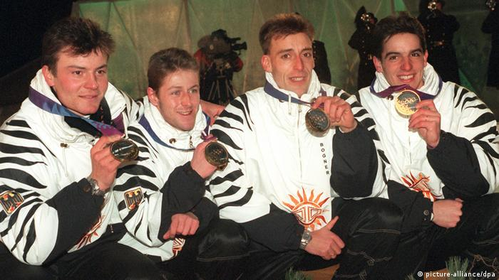 Frank Luck, Mark Kirchner, Sven Fischer and Ricco Groß
