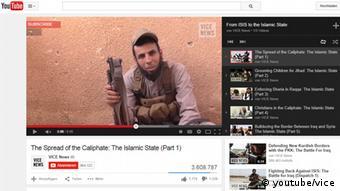 Fernsehen der Zukunft - Screenshot Youtube ISIS