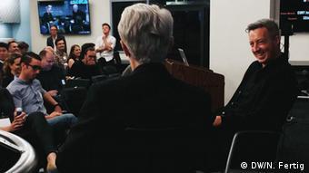 Jason Mojita y Jeff Jarvis.