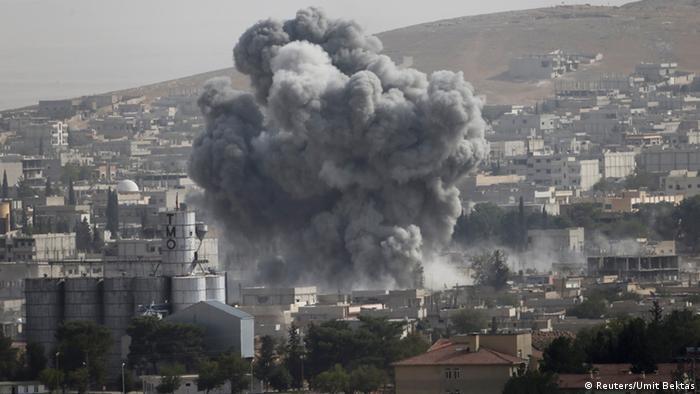 Rauchwolken über Kobane (Foto: Reuters)