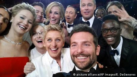 Selfie von Ellen DeGeneres