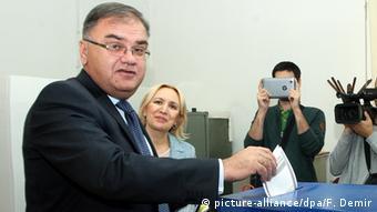 Mladen Ivanić na biralištu